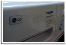 LG Tromm Washing Machine