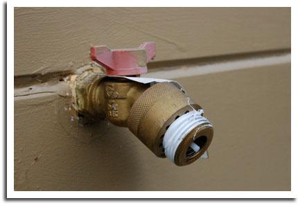 Noisy Water Hose Problem Solved